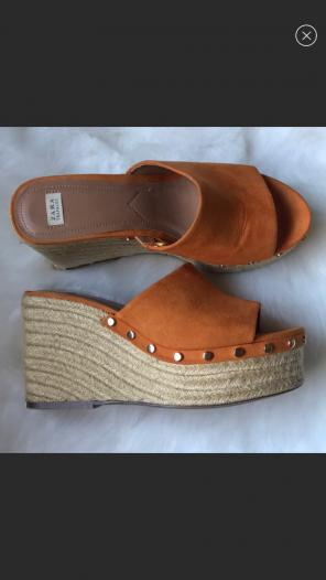 9302cc27fe9 Shop New and Pre-owned ZARA Suede Sandals