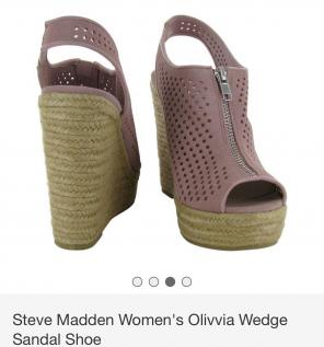 fa7b8c26b5f9 Shop New and Pre-owned Steve Madden Platform Wedge Sandals