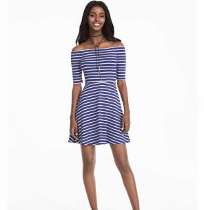 746d8558a19 Shop New and Pre-owned White House Black Market Striped Dresses