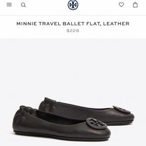 c9915487732b Shop New and Pre-owned Tory Burch Soft Leather Shoes