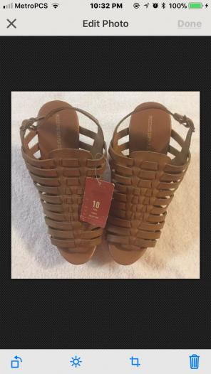 551d2bff1e50 Shop New and Pre-owned Mossimo Supply Co. Wedge Sandals