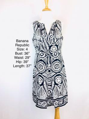 7cb3db17fcb186 Shop New and Pre-owned Banana Republic Flared Dresses
