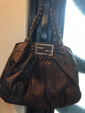 127ea5f69eae Shop New and Pre-owned Fendi 100% Leather Handbags
