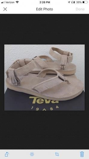 e2ca78d816f7 Shop New and Pre-owned Teva Leather Sandals