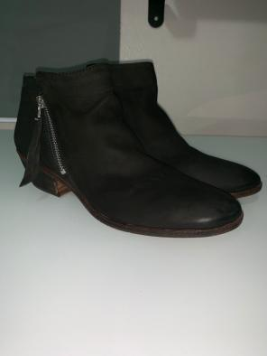 d36d23d6adc5 Leather Sam Edelman booties.  11. Packer Ankle Bootie