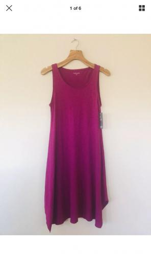a9f1029a302 Shop New and Pre-owned Eileen Fisher Sleeveless Dresses
