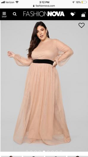 a013640fb2c Shop New and Pre-owned Fashion Nova Plus-Size Dresses