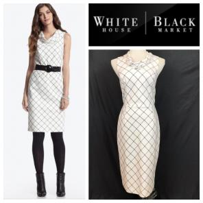98860e6191b57 Shop New and Pre-owned White House Black Market Side Zip Dresses ...