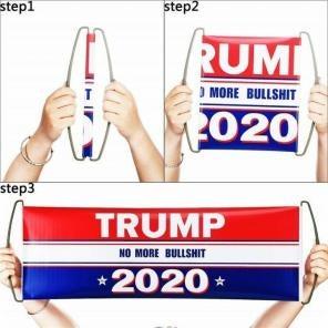 6 TRUMP 2020 Retractable banner