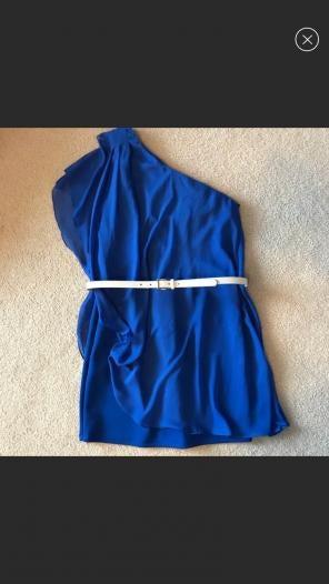 981275ec541c Shop New and Pre-owned BISOU BISOU One Shoulder Dresses