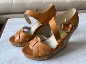 80293ef11fb3 Shop New and Pre-owned Michael Kors Wedge Sandals