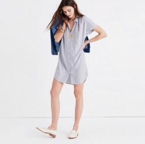 fa5a968aff Shop New and Pre-owned Madewell Fitted Dresses