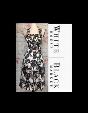 9a6eadad013622 Shop New and Pre-owned White House Black Market Silk Dresses