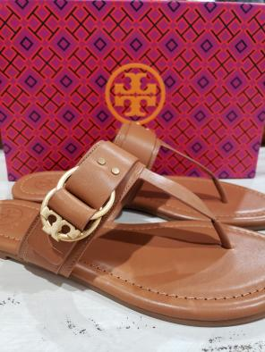 b39ca8a1af9d Shop New and Pre-owned Tory Burch Leather Sandals