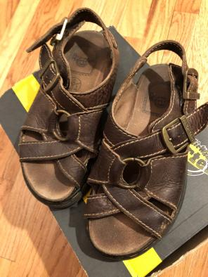 983d2d72bccc3 Shop New and Pre-owned Dr. Martens Leather Sandals