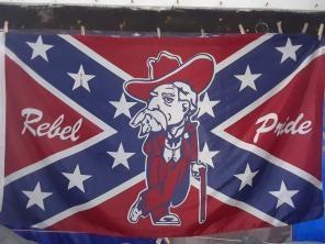 Rebel Pride Flag