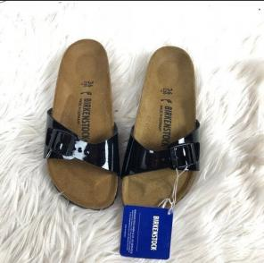 2058c78d5450 Shop New and Pre-owned Birkenstock Patent Leather Sandals
