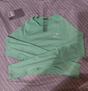 e8ba0638fb0e2 Shop New and Pre-owned Gymshark Seamless Active Shirts   Tops