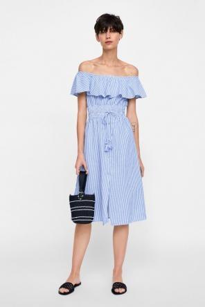a090f7ff5c3e Shop New and Pre-owned ZARA Off Shoulder Dresses