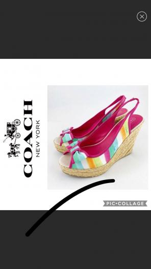 8042778cb8ed Shop New and Pre-owned Coach Espadrille Sandals