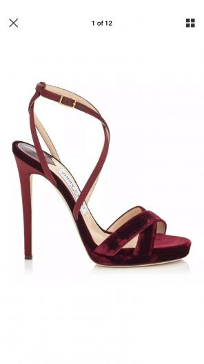 23bd495e524 Shop New and Pre-owned Jimmy Choo Strappy Shoes