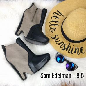 53d131469fd0 Shop New and Pre-owned Sam Edelman Faux Leather Boots