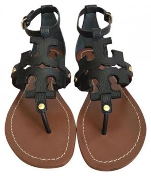 0a1acb269a3e Shop New and Pre-owned Tory Burch Topstitched Sandals