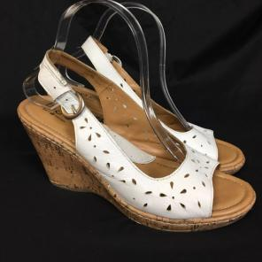 88191c28e Shop New and Pre-owned Born Cork Wedge Sandals