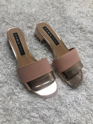 8065681b6459 Shop New and Pre-owned ZARA Slide Sandals