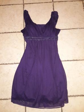 Purple Cocktail Dress Barn