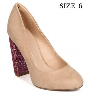 d29a045e6b4a Shop New and Pre-owned Faux-Suede Upper Pumps