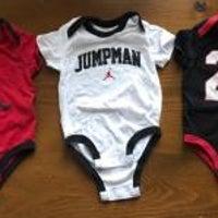 Michael Jordan 6-9 Month Onesies