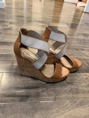 03415d0099e Shop New and Pre-owned Steve Madden Cork Wedge Sandals