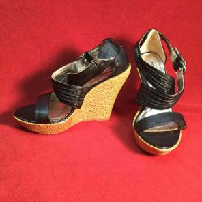 a6306fcb3c1 Shop New and Pre-owned Charlotte Russe Platform Wedge Sandals