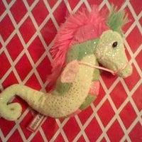 "Green Seahorse Douglas 7"" tall plush"