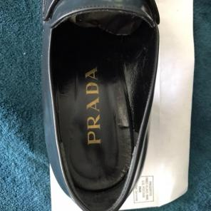 3a641c176ff4 Shop New and Pre-owned Prada Slip-On Shoes for Men