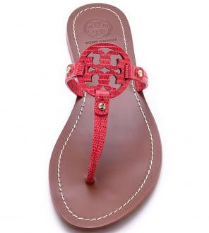 5ec4c22679d4 Shop New and Pre-owned Tory Burch Leather Sandals