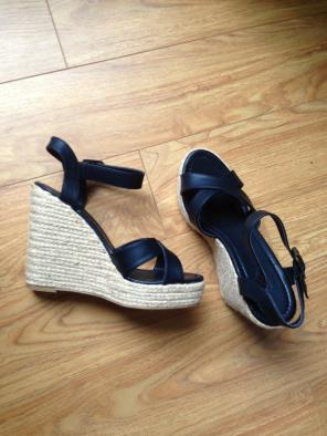 dac73307ffa Shop New and Pre-owned Charlotte Russe Crisscross Strap Shoes