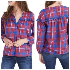 095e4b72c1 Shop New and Pre-owned Madewell Peasant Blouses