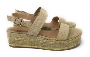 0fdaafeaa0a Bamboo Platform Wedge Shoes