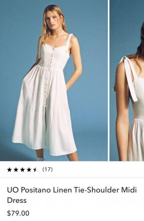 6a8daf3e35e Shop New and Pre-owned Urban Outfitters Midi Dresses
