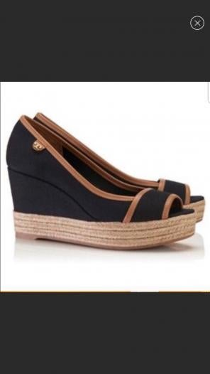 cc5137000f9b Shop New and Pre-owned Tory Burch Jute Wedge Shoes