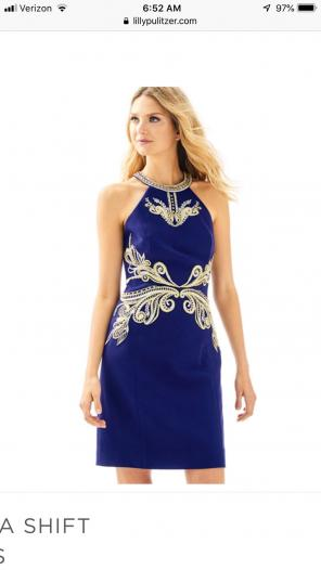 8217da5cc4e04 Shop New and Pre-owned Lilly Pulitzer Cold Shoulder Dresses