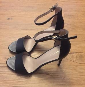 e9bced611bc Aldo Fabbrico Strappy Nude High Heels.  15. Also Melawet Sandal