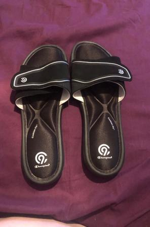 9b118009d4f80 Shop New and Pre-owned Champion Slide Sandals