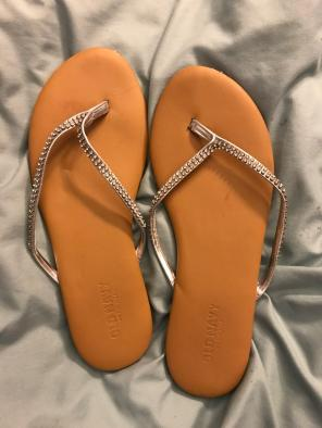 45e0be2be389e Shop New and Pre-owned Old Navy Rhinestone Sandals