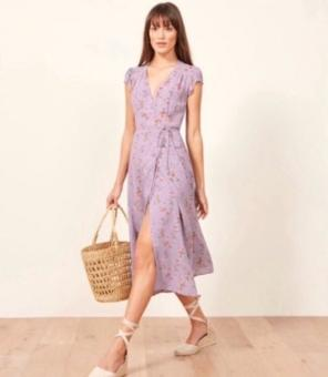 b1485f176e Shop New and Pre-owned Reformation Midi Dresses
