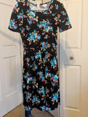 Shop New And Pre Owned Lularoe Fit And Flare Dresses Up To 70 Off