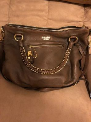 577b1790b5f0 Shop New and Pre-owned Prada Zip Closure Handbags